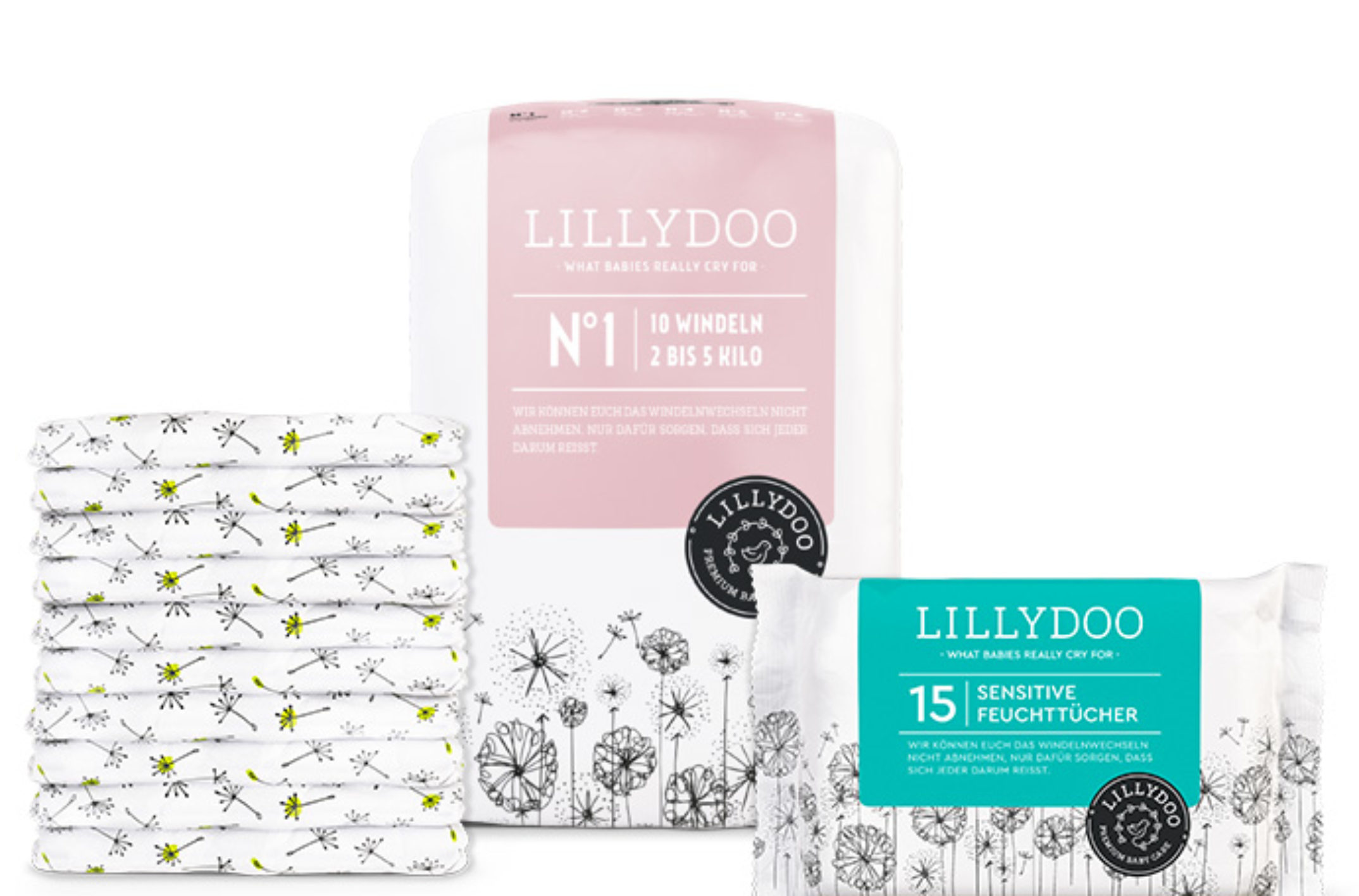 Couches gratuites Lillydoo  : testez le kit d'essai sur lillydoo.com