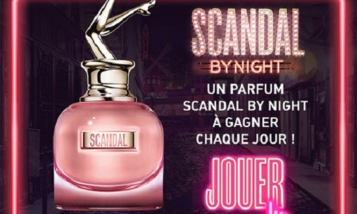 Des parfums « Scandal By Night » de Jean Paul Gaultier à remporter – jeu gratuit
