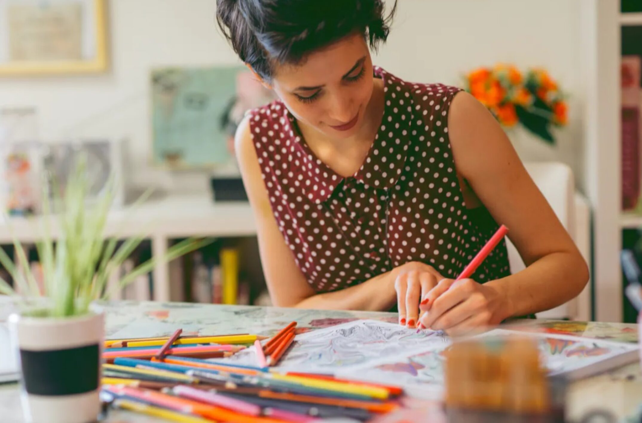 Loisirs créatifs: comment surmonter le stress grâce au coloriage?
